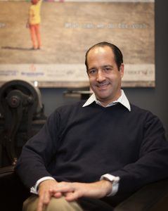Eric Kahn, executive chairman of Graphic Village. Graphic Village just acquired DMS ink.
