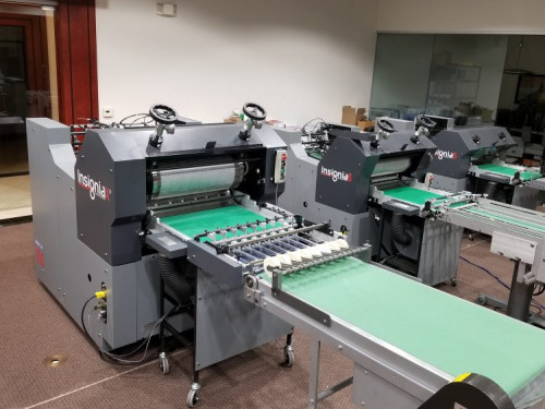 Rollem Installs Insignia Sheetfed Flexo-Magnetic Diecutters