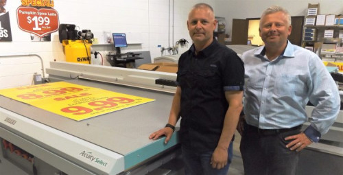 Graphicolor Printing Doubles Wide-Format Revenue With Fujifilm's Acuity Select 26