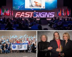 FASTSIGNS Recognizes Achievements, Honors Franchisees at 2020 International Convention
