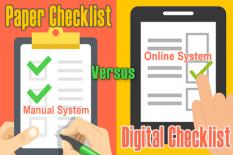 Paper Checklist versus Digital Checklists