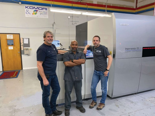 Spectrum Printing's Investment in the Komori Impremia IS29 is a Bridge to the Future