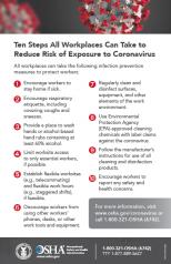 OSHA poster coronavirus COVID-19