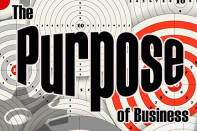 The true purpose of business.