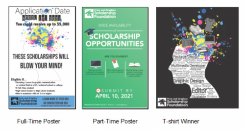 2020 PGSF Poster Design & T-Shirt Competition Winners