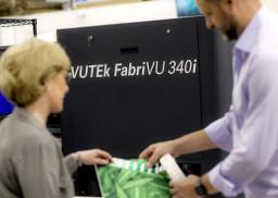 Maverick Concepts is currently installing its second EFI VUTEk FabriVU 340i printer.