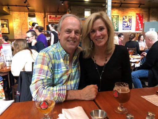 Outside of work, David Bennett enjoys spending as much of his free time as possible with his wife Barbara.