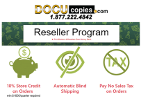 DocuCopies relaunches its reseller program during COVID-19.