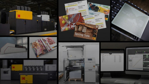 Kodak is doubling down on digital print, especially technology that enables digital package printing.