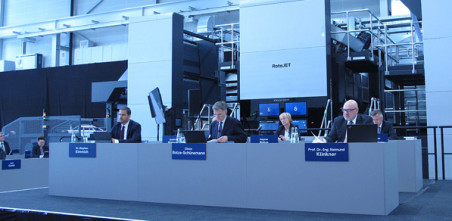 Koenig & Bauer AG's 95th annual general meeting took place as a virtual event for the first time (1)