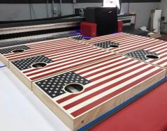 Cincinnati-based AJJ Enterprises has purchased a second EFI Pro 30f printer to meet increased consumer demand for cornhole boards.