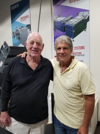 Rollem employee Barry Kallman to retire after 48 years in printing industry.