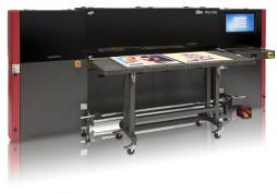 EFI Pro 16h hybrid flatbed/roll-to-roll UV LED wide-format inkjet printer.
