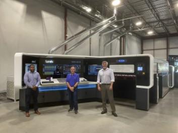 Duggal acquired the digital press from Landa Digital Printing.