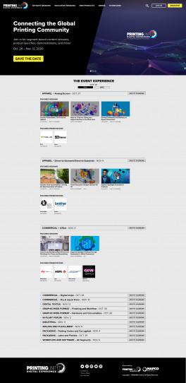 Visit the PRINTING United Digital Experience homepage at PRINTINGUnited.com.