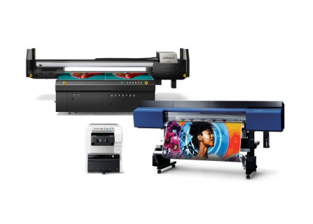 Roland DGA will be showcasing the TrueVIS VG2-640 wide-format printer/cutter; the IU-1000F high-volume flatbed UV printer; and the VersaSTUDIO BT-12 direct-to-garment printer, during the 2020 PRINTING United Digital Experience.