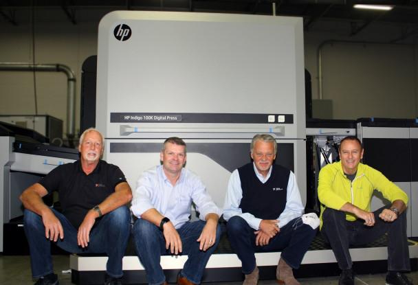 Think Patented installs HP Indigo 100K digital printing press.