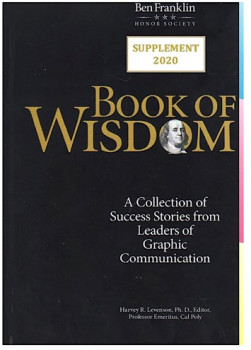 Ben Franklin Honor Society BFHS Book of Wisdom 2020 Supplement.