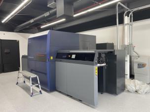 Grace Printing install KM-1 LED-UV inkjet printing press