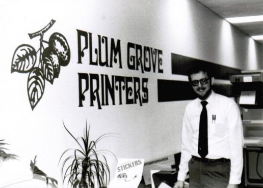 Peter Lineal, Plum Grove Founder, circa 1984.