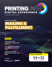 PRINTING United Digital Experience Mailing and Fulfillment
