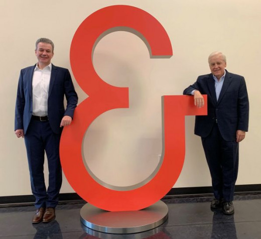(Left to right) Koenig & Bauer (US/CA) announces that Kilian Renschler, its current executive VP of sales, has been named the new CEO and president and will take over the helm from Mark Hischar, who will be officially retiring as of Dec. 31, 2020.