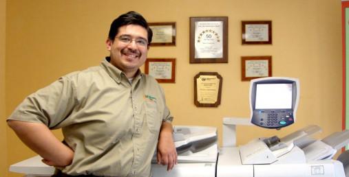 Minuteman Press franchise owner Peter Castorena (Lancaster, CA) is a member of the Minuteman Press International President's Million-Dollar Circle.