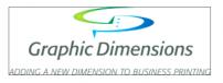 Graphic Dimensions Inc logo