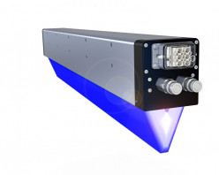 AMS Spectral UV does about 65% of its business in UV curing for the sheetfed offset segment with LED-UV modules like the one shown above.