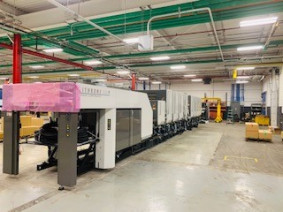 CJK Group has invested in two eight-color Komori Lithrone G40 perfecting presses.