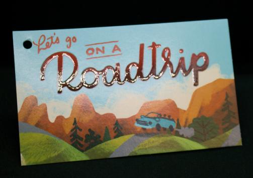 Postcard. Raised (textured) UV produced on 12pt C2S.