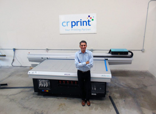 The installation of an Acuity LED 46 and Acuity LED 1600R has helped CR Print grow its business.