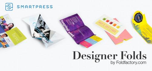 Foldfactory has launched Designer Folds on smartpress.com