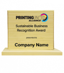 Sustainable Business Recognition Awards