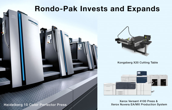 Rondo-Pak acquires new equipment to produce more specialized packaging, driven by COVID-19