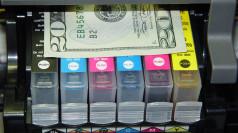 Highspeed Inkjet Turns Paper Into Money