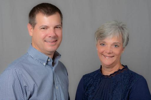 President and Co-Owner Sue Flottman Steller with Vice President and Co-Owner Peter Flottman.