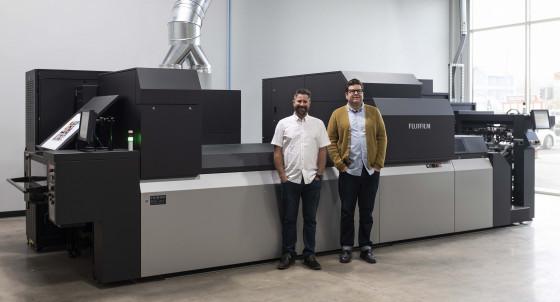 Direct Edge installs Fujifilm J Press 750S inkjet printing press