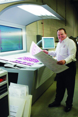 Barry Green has always stayed up-to-date on printing technologies, including Phoenix's fleet of new Heidelberg Speedmaster XL 105 sheetfed LED-UV offset presses.