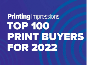 Top 100 Print Buyers for 2022 Ranking and Analysis Uncover Major Sales Opportunities