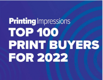 Printing Impressions TOP 100 print buyers for 2022