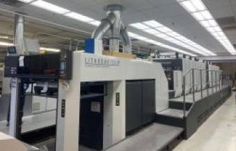 Sheridan install world's first Komori Lithrone GX840P+C Eight-Unit Perfecting Press