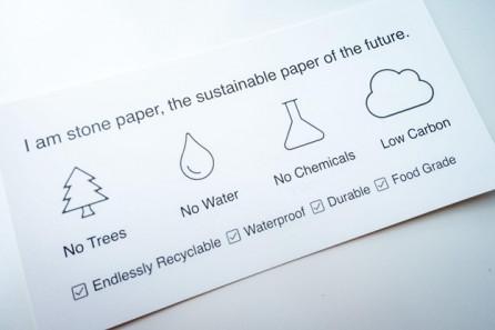 Stone paper campaign