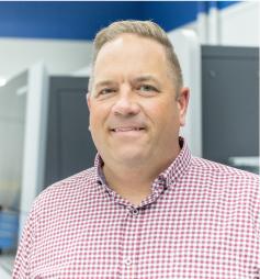 Scot Neumann, Midwest Sales Manager of Heidelberg Gallus