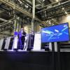 Rainer Hundsdörfer, Heidelberg CEO, discusses the Heidelberg Primefire 106 at the Heidelberg Packaging Day event.