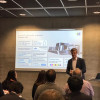 Stephan Plenz leads a presentation on the future of packaging.