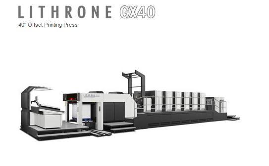 Komori Lithrone GX40