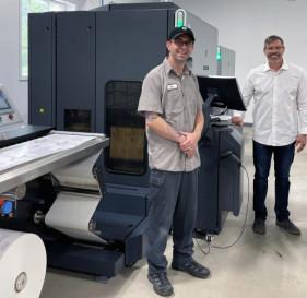 HP Indigo 6900 digital printing press
