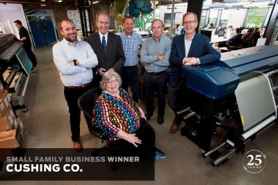 Cushing Loyola Photo Family Business Award