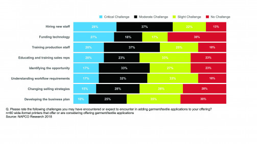 Staff and technology investments are key challenges.